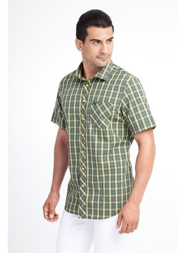 Kiğılı Gömlek Yeşil